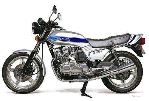ホンダのCB750Fの初期型は1979年に発売だそうです。