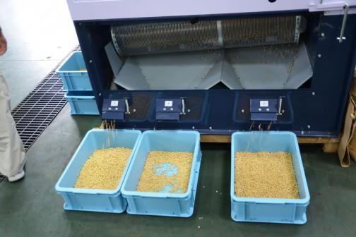 山形県天童市の会社 株式会社山本製作所の大豆選別機 YBS-103 価格¥1,296,000