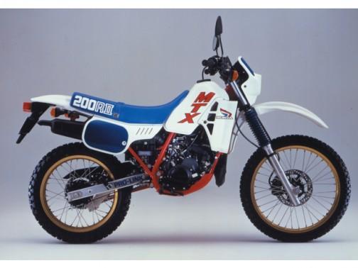 1985年にMTX200R。