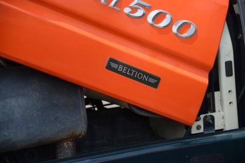 そして以前もKL500パワクロで見た、控えめなBELTIONのステッカー。