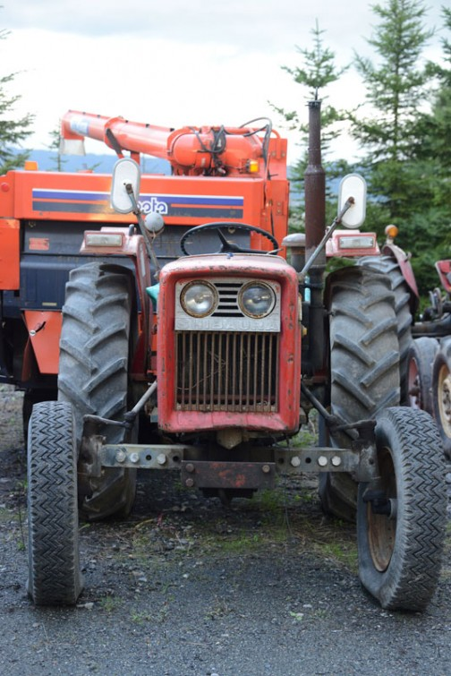 シバウラS-30Aです。年式がわかりません。農研機構に登録のある1976年以降には記載がありませんので、1976年より古いものと思われます。また、tractordata.comにも記載がないので、輸出もされていない感じです。
