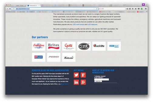 UKAP(UK automotive products)の中でBritaxとRubbolite仲間なんですね。