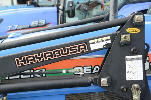 HAYABUSAというローダーがついています。