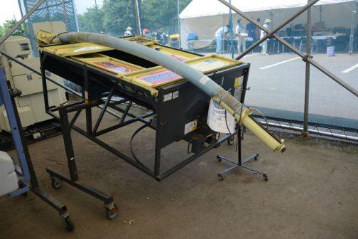 タイショー グレンコンテナ UP08-H30D 中古価格 ¥100,000 僕にはおなじみ、水戸の会社です。 ホースの長さ3m