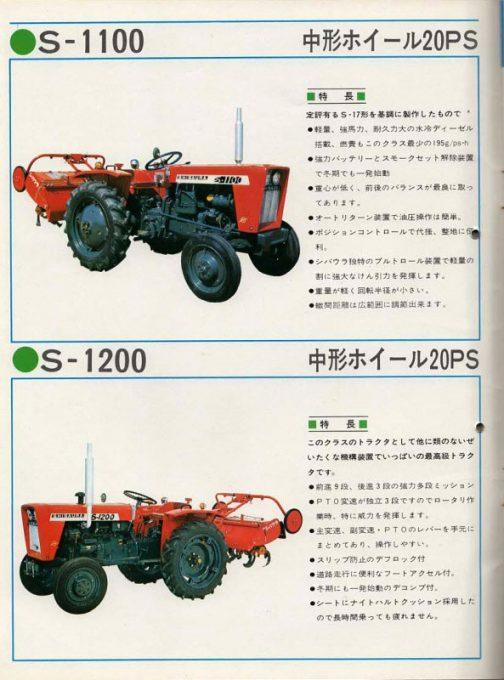 こちらのページはS-1100とS-1200が載っています。この特長を書いた人はS-900の書き手とは別の人だと思われます。