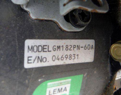 大した違いがないような両者ですが、実は搭載エンジンが違うようなんです。三菱LC4に搭載されているのは、三菱製GM182PN-60A型。スペックは発電機のものしか見つからなかったのですが、空冷4サイクル傾斜形頭上弁式ガソリンエンジン (OHV)181cc