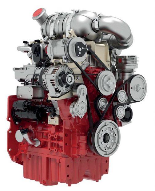 これがそのDEUTZ TCD3.6 L4エンジン。 DEUTZのスペックシートでは、4気筒 3600cc 100馬力/2300rpmとなっています。