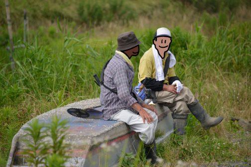 ベテランは各自自分の体調に合わせて休み休みやってくれるので、すごくありがたいです。草刈りや写真撮りに夢中になっていると、なかなか他の人の状態まで気がつかないですからね。