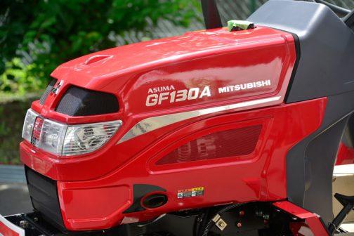 僕的トラクター界で唯一人だとAppleに認定された、三菱GF130Aに戻ります。