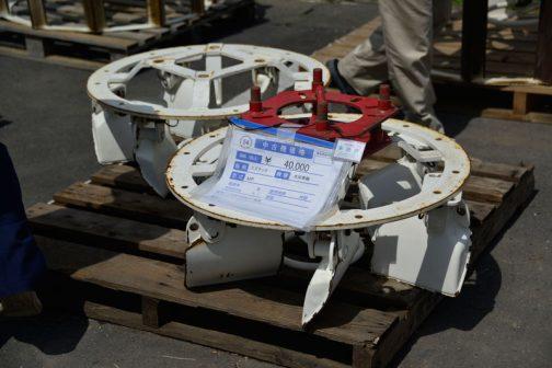 スズテック 水田車輪 MP 中古価格¥40,000 備考 イセキTA267に使用スズテック 水田車輪 MP 中古価格¥40,000 備考 イセキTA267に使用