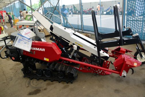 ヤンマー ネギ収穫機 HL-1 中古価格¥1,380,000 製造年 H27年