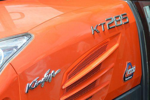 より切れ長に、シャープに、モデルチェンジされた3ケタKTシリーズも同じ愛称でKINGEYEです。高級感や力強さ、農業を想起させるような愛称が多い中、「目」というのは変わっています。