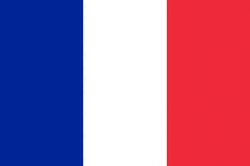 Wikipediaによるとフランス国旗の使用色は 青(パントーン282/CMYK=100-94-18-0) 白 赤(パントーン186/CMYK=0-88-77-0) となっているので、どちらかといえば青というよりは紺ですかね・・・