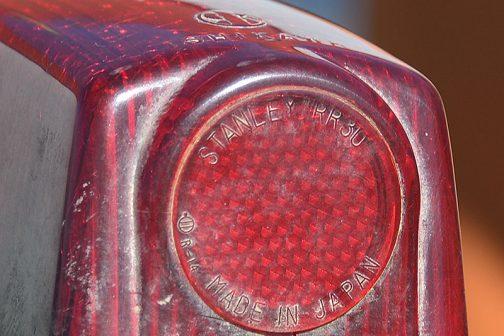 STANLEY RR30 MADE IN JAPAN スタンレーの製品です。ここまでなら「ふ〜ん・・このテールはスタンレー製なんだ・・・」で終るところでした。
