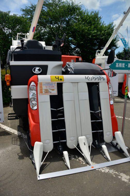クボタ DYNAMAX REVO 4条コンバイン ER470HDMWE-C 価格 ¥9,115,200 エンジン馬力 70.0PS 燃料タンク 55L グレンタンク容量 1400L(28袋)