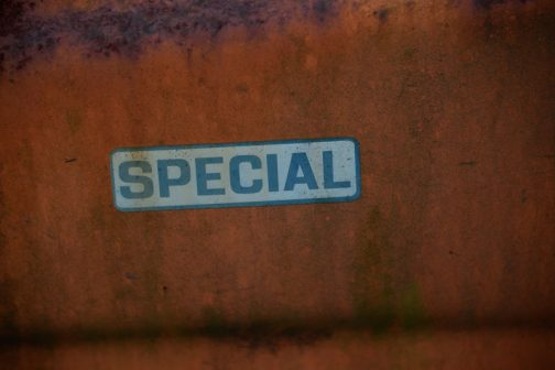 あ!これ、specialです。