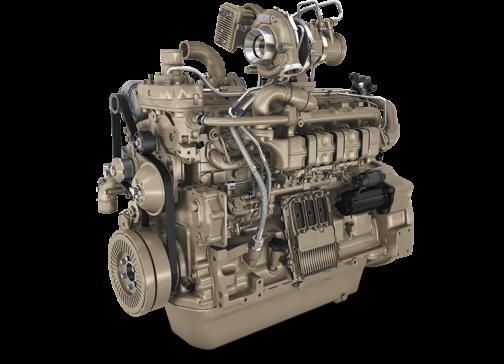 これがそのジョンディア6.8L PowerTech™ PVX 185馬力から250馬力までをカバー(馬力帯が合わないなあ・・・)