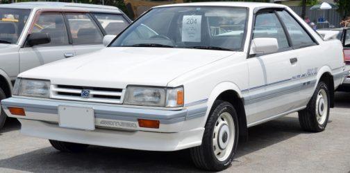 スバル・レオーネ クーペ RX/II クーペ:1985年 - 1989年 写真はWikipediaより。