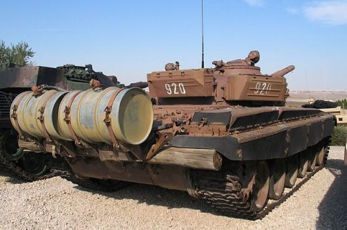 T-72の増槽(Wikipediaより)