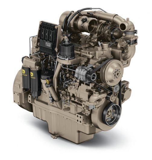 PowerTech™ PSS 6090HFC09 9.0L Industrial Diesel Engine ピタリではないかもしれませんが、こんなヤツが載っているのでしょう。