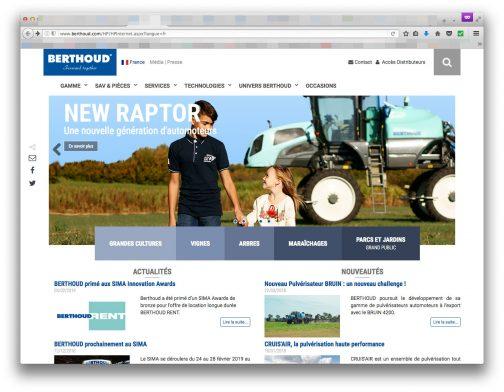 ERTHOUDのWEBページです。言語はフランス語しか見つけられませんでした。