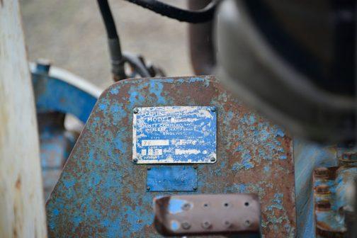 County 1124 Super Six あ!そうそう なぜこの機体がCounty 1124 Super Sixだと思ったかというと、サイドのステッカーもそうですが、銘板にMODEL 1124と書いてあったからです。