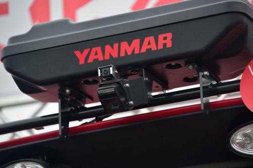 ヤンマーのロボットトラクター、YT5113A,YUQW5-R 前方カメラ