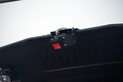 ヤンマーのロボットトラクター、YT5113A,YUQW5-R 後方カメラ。NIPPON SIGNALのメーカー銘