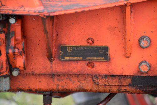 David Brown 1210 テネコに買収されたあとの製品のようです。