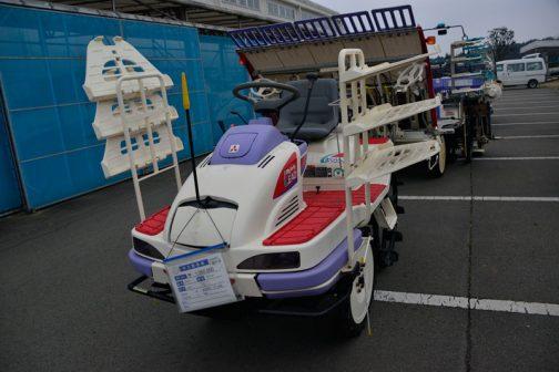 三菱 田植機 LV5 中古税込価格 ¥1,080,000 使用時間115時間