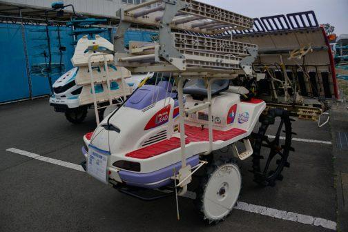 三菱 田植機 LV6 中古税込価格 ¥446,000 使用時間439時間 備考 成約後、バッテリー交換