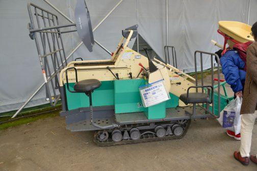 ここからは雑多な機械です。 コバシ 自走式収穫 HP600 中古税込価格 ¥1,000,000