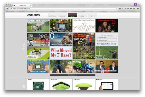 どんな会社なのかJAVADのWEBページを探してみると・・・ なんだか見たことのないゆユニークな構成のWEBページでした。ニュースがYoutubeのように並んでいて、会社の沿革など詳しいことは書いていないような気がする・・・