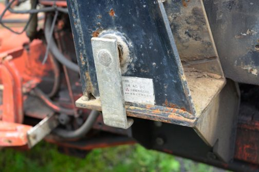 フロントローダーは三菱製です。流用でしょうか?