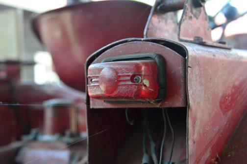 あとはTB-15の記録用写真です。これはテールランプ。メーカーはわかりませんでした。