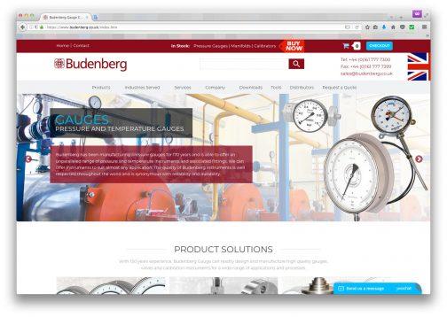 Budenberg Gauge Companyは現在でも存続している会社でした。早いうちにイギリスに本拠を移していたようです。