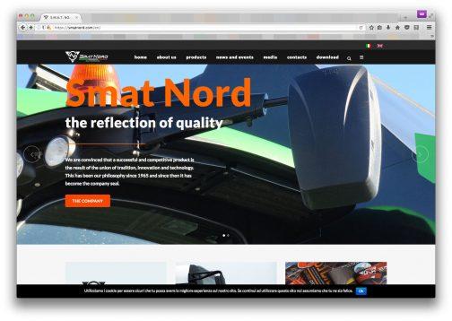 SMART NORDは1965年創業のミラーメーカー。バイクからトラクターまで、様々なバックミラーを作っているようです。