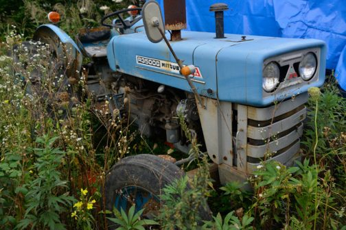 手持ちの資料で調べてみると、R3500Gの製造は1974年〜1976年となっていて、製造開始があの「青いトラクター」D1500の1年後なんです。想像するに、その青のムーブメントに合わせ、R3500も青を身に纏って売られたのではないでしょうか?