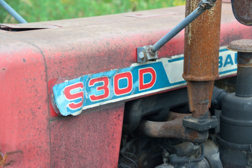 もう50年近く経っているということになりますが、昔のステッカーは長持ちしますねぇ・・・