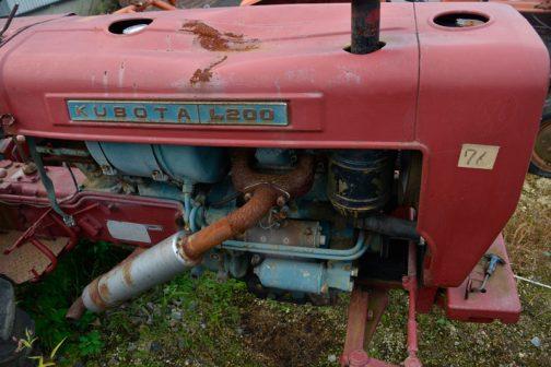 なぜか赤に塗られてしまったL200R。多分刷毛塗りです。キノコの根本に間違って赤がペタペタ付いています、このL200R、実は写真は2枚しかありません。