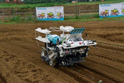 クボタ野菜全自動移植機 ベジータ、SKP-101、標準仕様で税込¥1,421,200