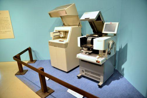 そして最後の最後に展示されていたものは・・・ 初めFAXの複合機かと思ったのですが、DNAの解析をする機械みたいです。