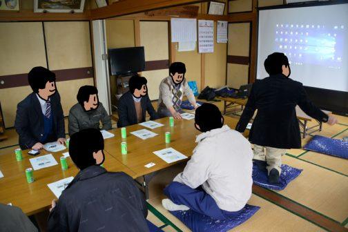 昨日は福島県田村市から営農組合にいらしたお客様の視察/研修のようすを見てきました。僕は途中から行ったので、田村市のどのへんかよくわかりません。