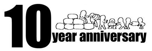 このブログを始めたのが2010年の3月28日。おかげさまで10周年になりました。