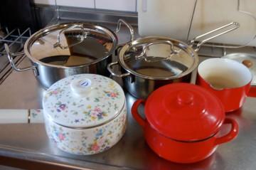 炊飯可能な鍋の写真