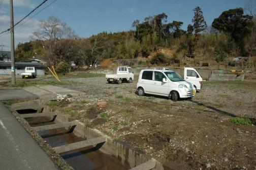 今は更地になってしまっていますが、かつては大場村の役場があった場所。大場村の中心にあたる場所だったのです。