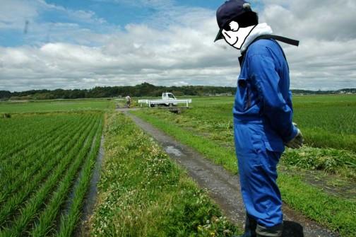 農地・水保全管理支払交付金 農用地法面の点検