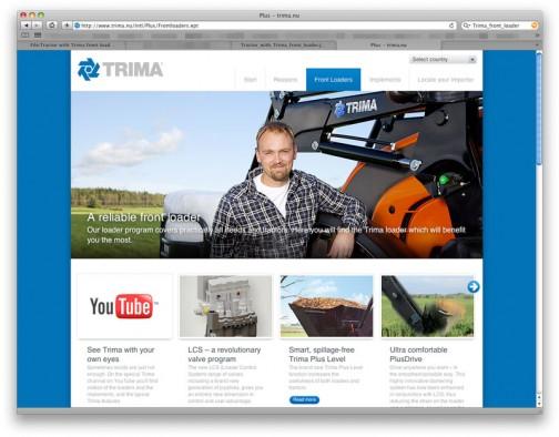 色々探していくとALOというスウェーデンの会社に行き着いちゃうので、このtrimaというのはタダのブランド名かもしれません。