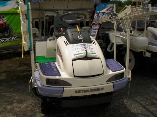 三菱乗用5条田植機 LV5ANSY 空冷ガソリンエンジン14馬力 価格¥2107350