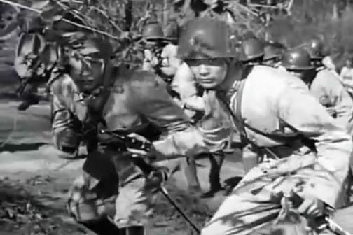 ここでも日本兵らしき兵隊さん「おってこう」「おってこう」みんなそういってます。「おってこう」って何だ?